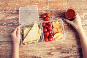 Healthy food example